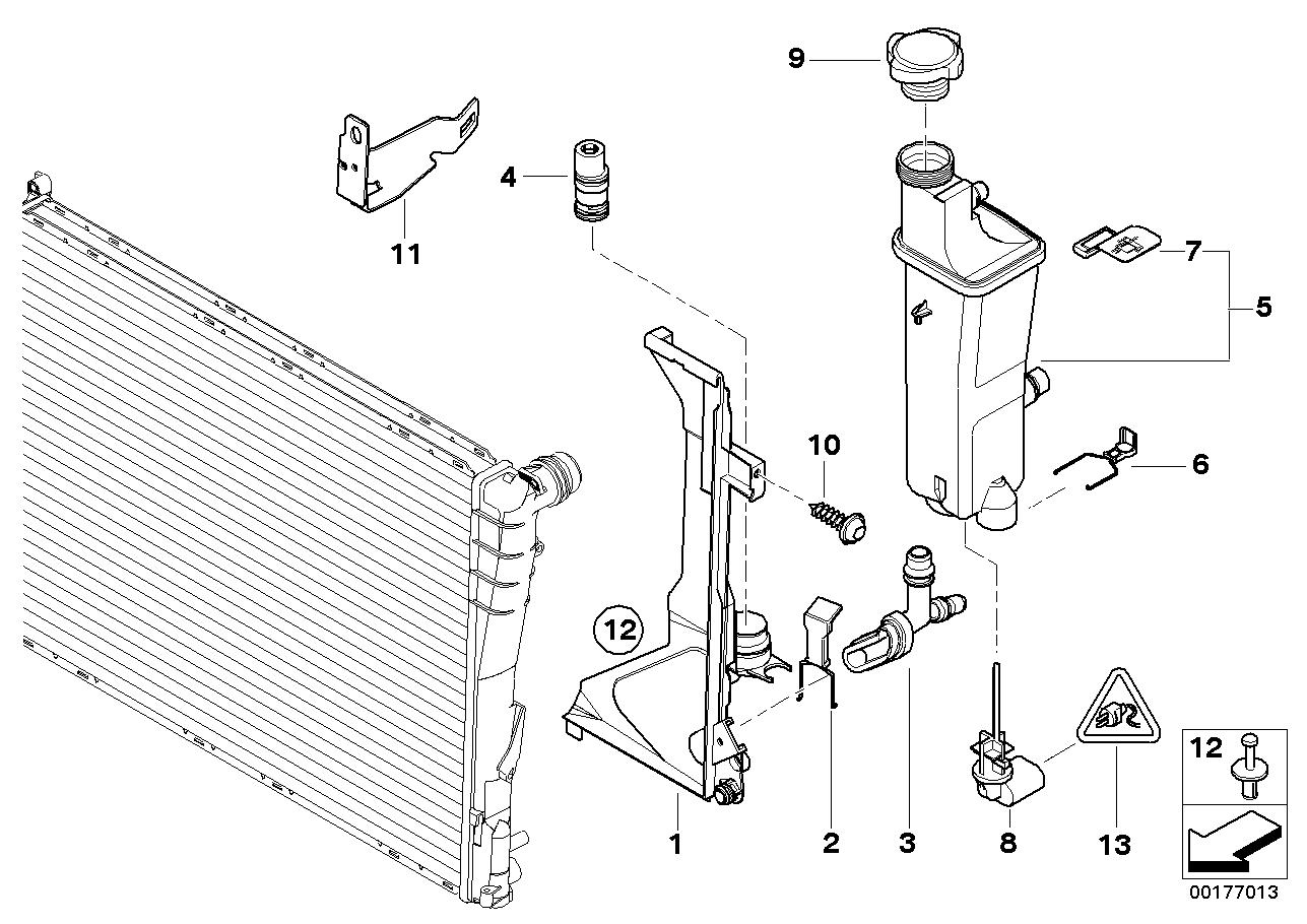 Sistema de refrigeração BMW E53 SAV 47738