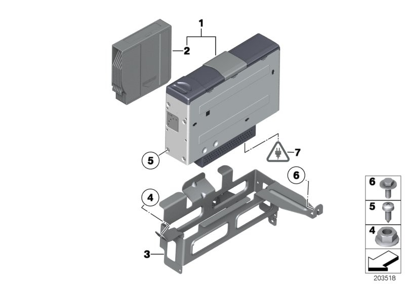 CD Changer/Bracket