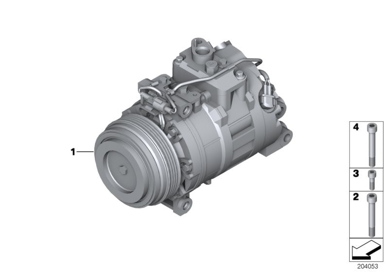 RP air conditioning compressor