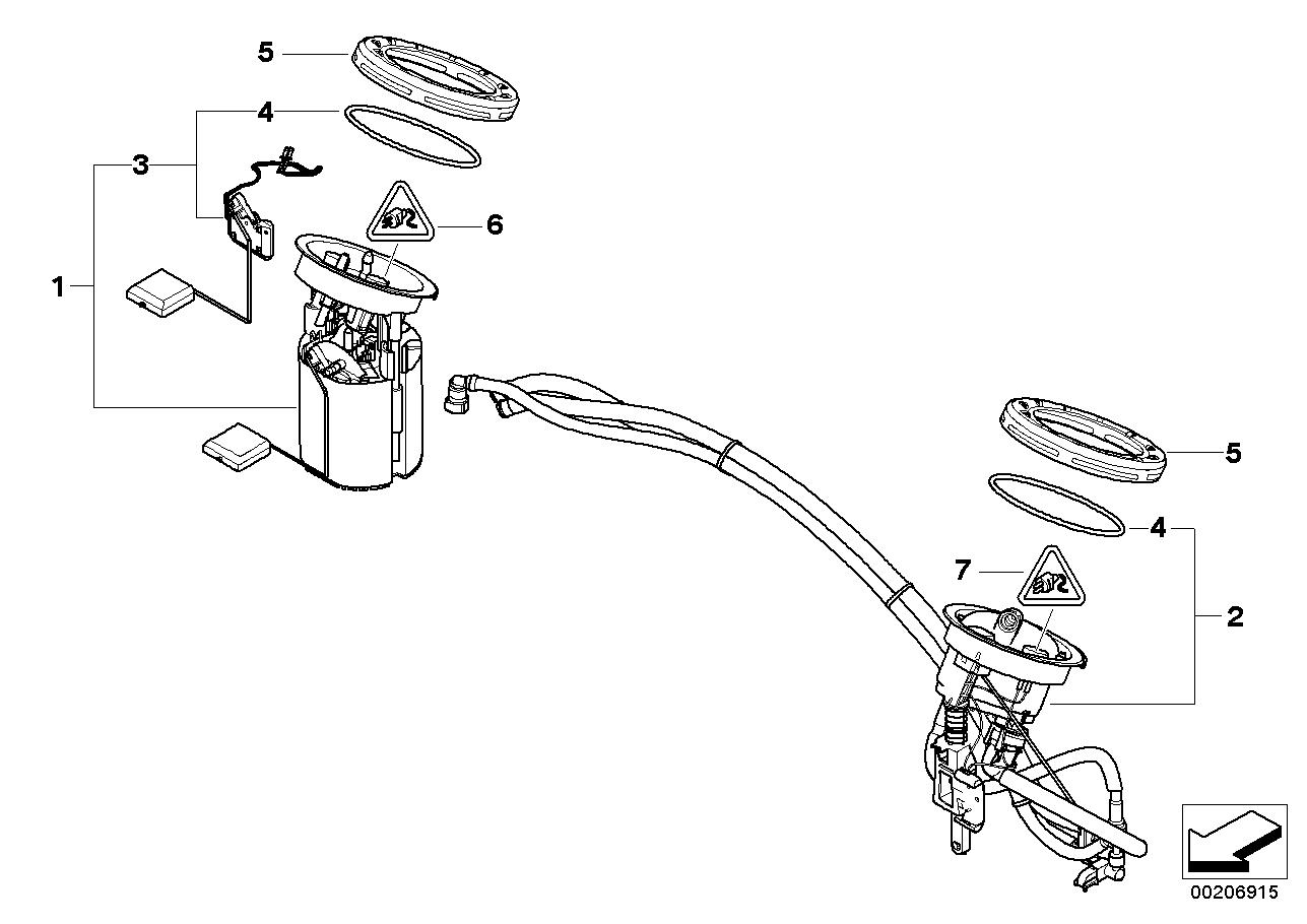 Fuel Supply BMW E84 SAV 52642