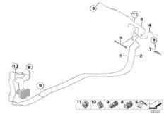 Vehicle electrical system BMW F25 SAV 53343