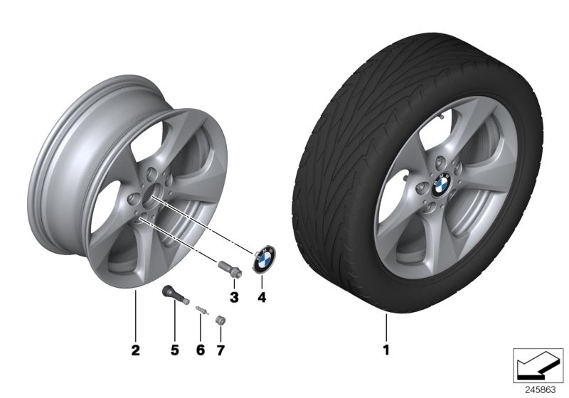 BMW LA wheel Streamline 370