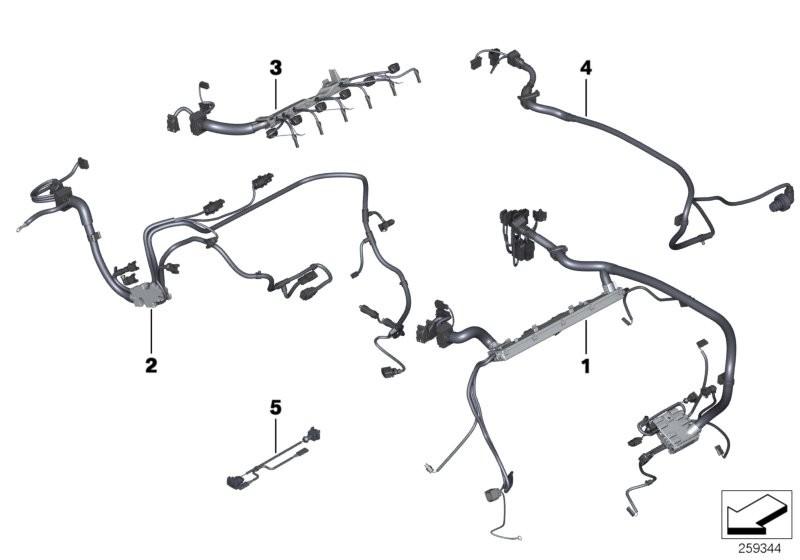 Engine Electrical System BMW F01 sedan 51262
