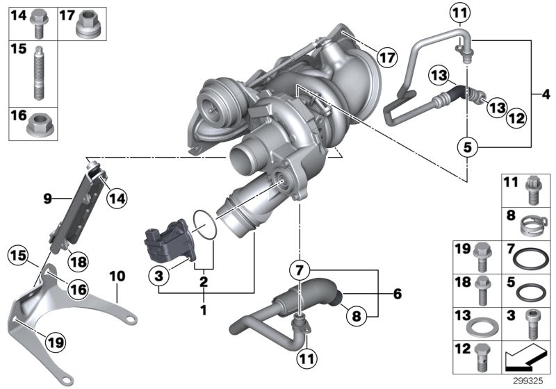 Engine BMW F20 5-doors 53622