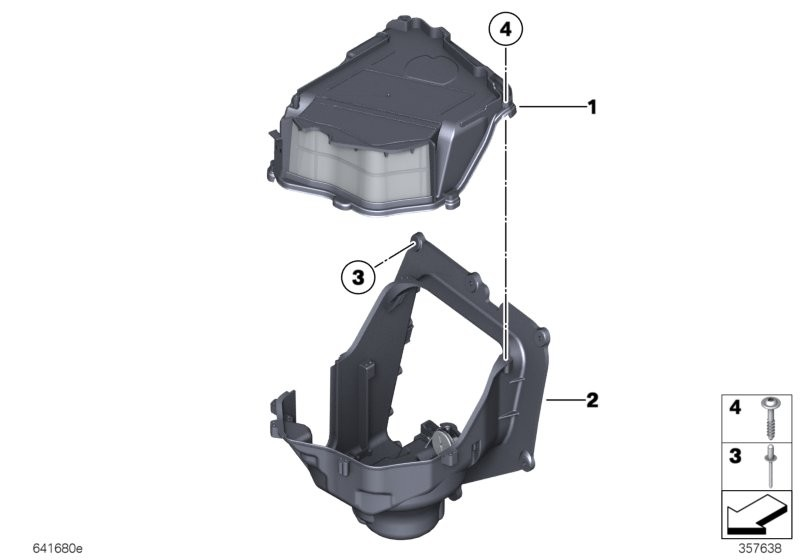 Single parts, blower housing