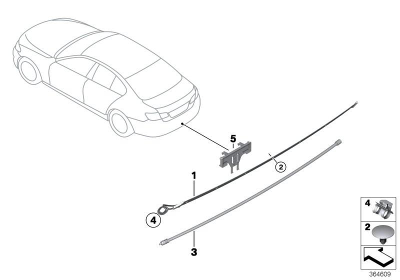 Vehicle electrical system BMW F10 sedan 53592
