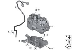 Manual gearbox BMW K42 without 55347