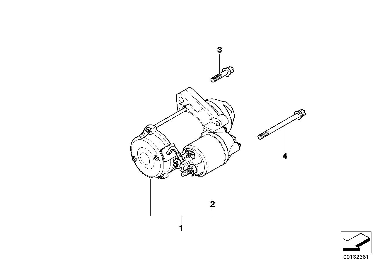Motor de arranque BMW E84 SAV 52063